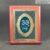 KNC gỗ G3 chữ nhật thường nâu đen 20×25 2019 – khung vàng xanh 07