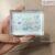 Pha lê chữ nhật chặn giấy