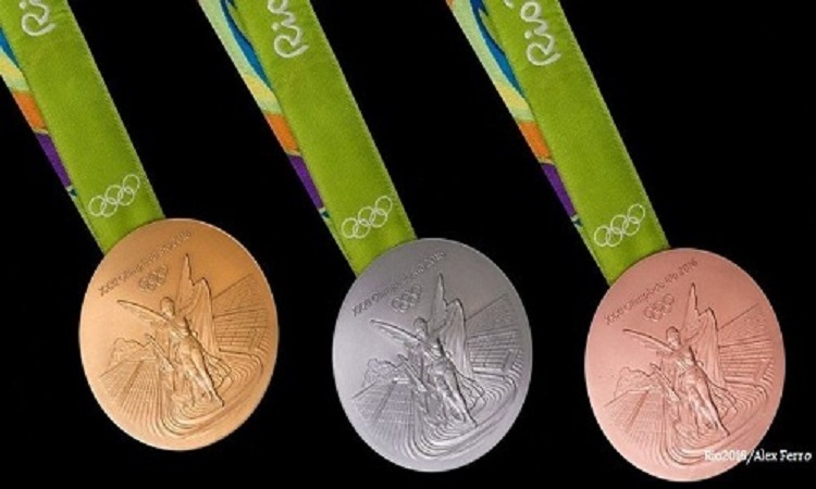 huy chuong vang Olympic Rio 2016